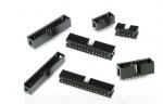2x10 Conector Negro IDC P20 Macho Para PCB